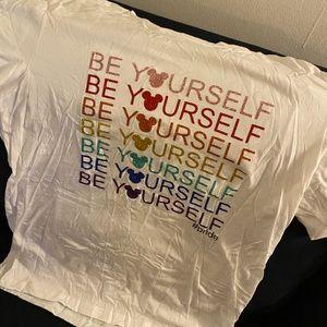 Be yourself Disney pride shirt